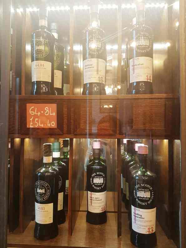 Scotch Whiskey Society, from the corner table #fromthecornertable