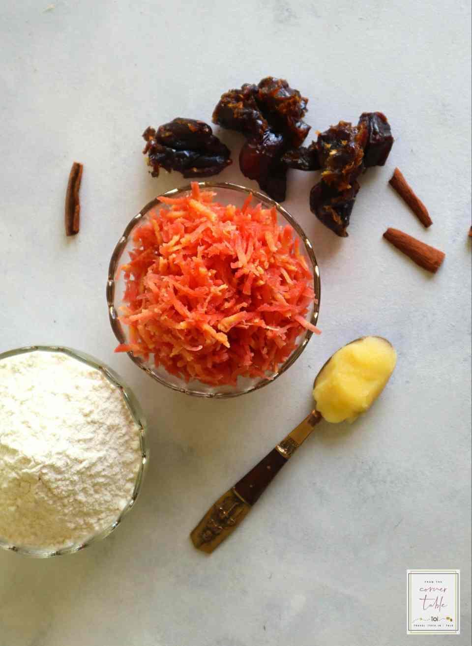 gajar Ka halwa, carrot halwa, #indiandesert #fromthecornertable