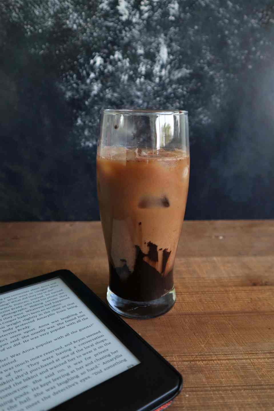 Dalgona, iced coffee, cocoa coffee,coffee trend, fromthecornertable, from the corner table, copyrightimage