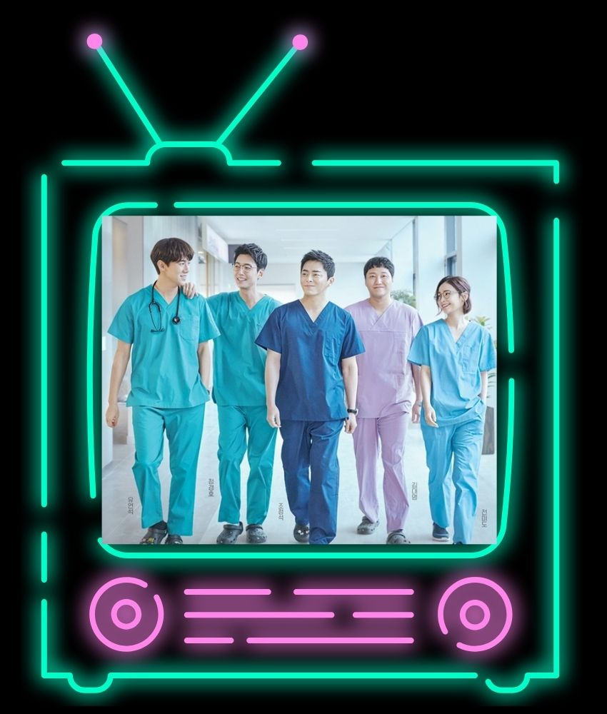 Hospital Playlist poster | representational image on From The Corner Table