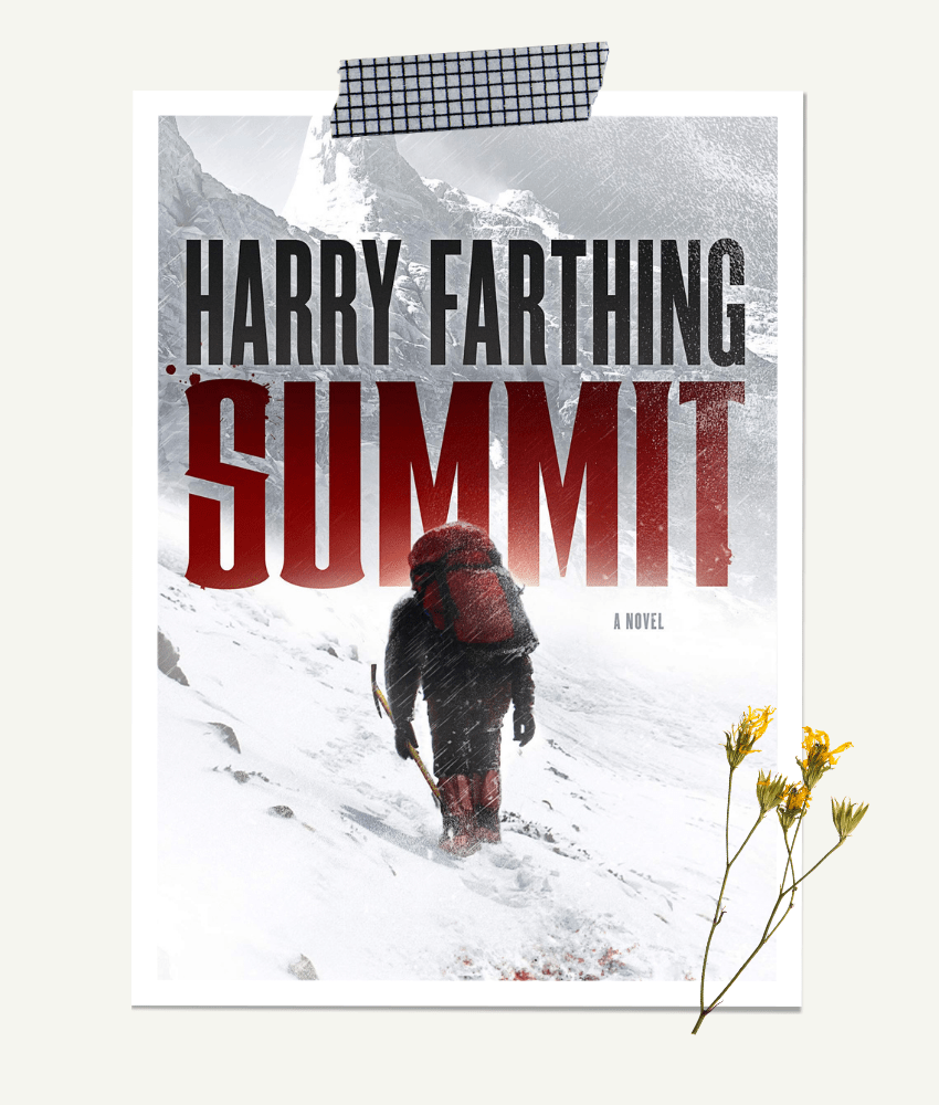 Summit by Harry Farthing | Book review on From The Corner Table