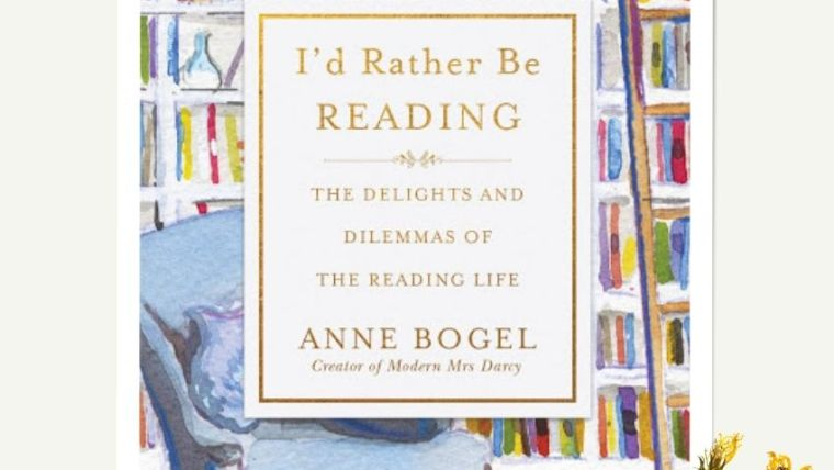 I'd Rather Be Reading | From The Corner Table
