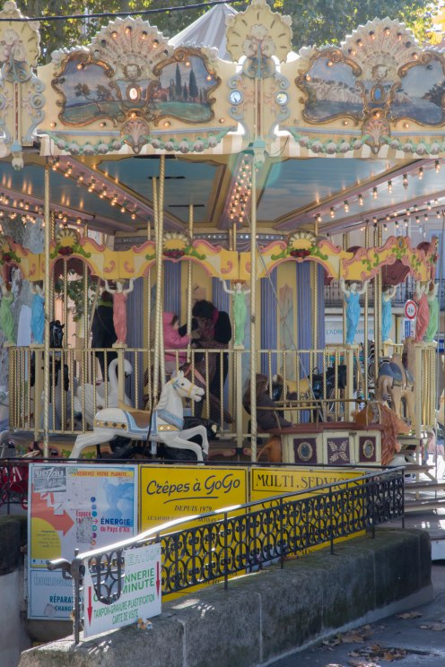 Carousel at la Rotonde