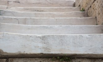 Steps leading up to the Propylaea