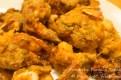 Deep-fried crab-stuffed shrimp