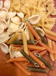 Mixed pastas