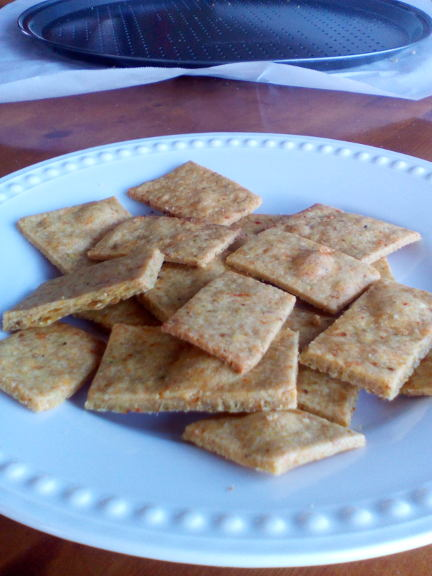 Homemade Vegetable Thins recipe