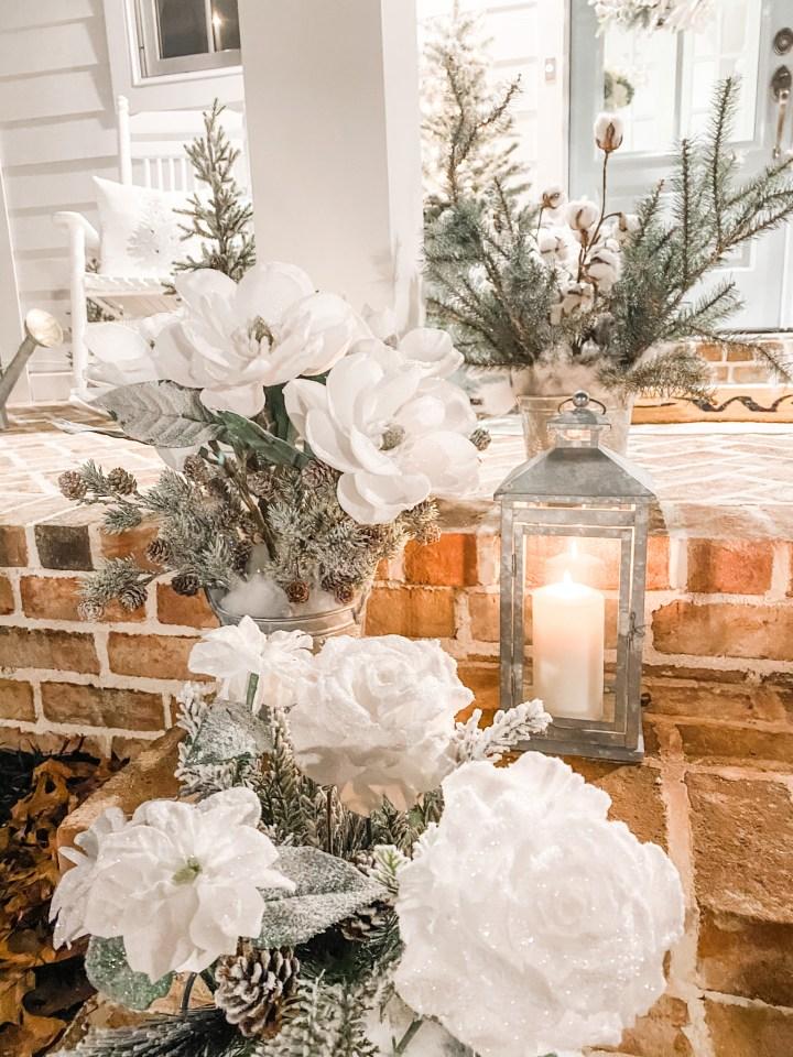 How to Make a Winter Flower Arrangement