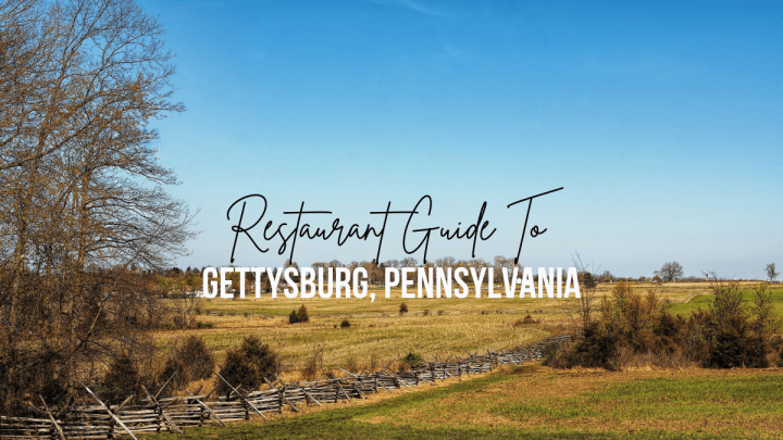 Take-Out and Delivery Restaurant Guide To Gettysburg, Pennsylvania