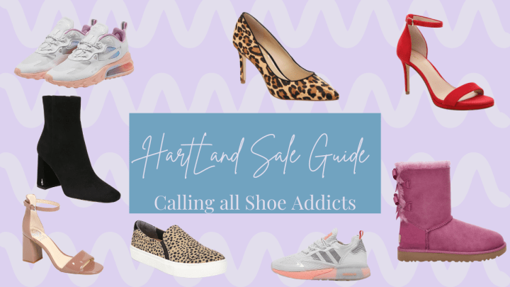 Weekly Sales Guide From the HartLand: Calling All Shoe Addicts