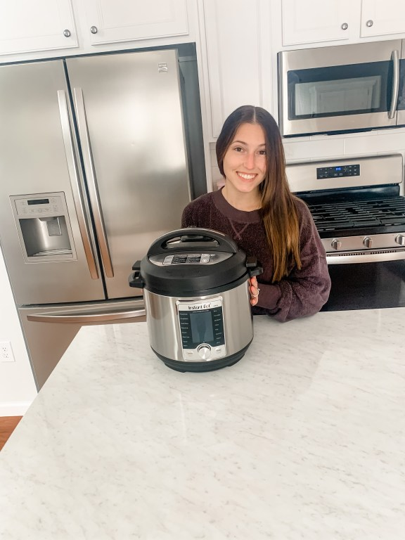 Brittany and her Instant Pot
