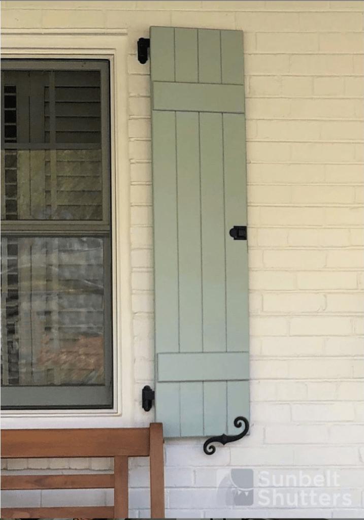 board and batten shutters
