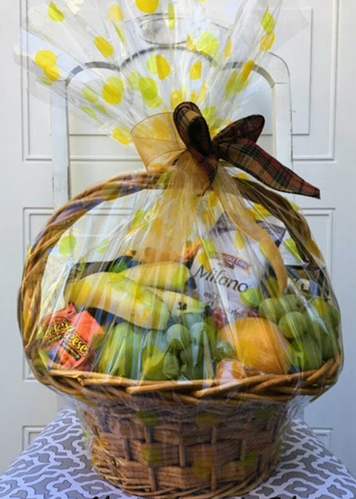 From the Heart Florist holiday fruit basket