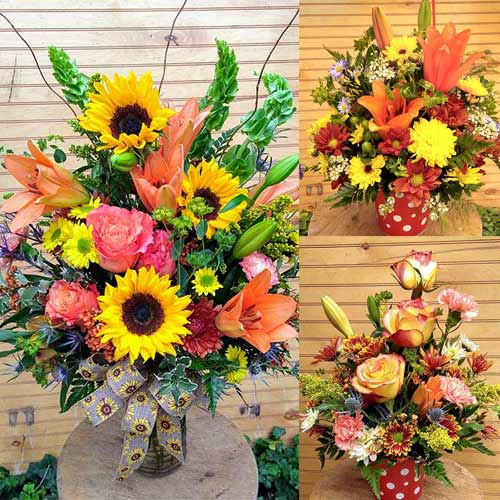 Fall Bouquets and Autumn Arrangements