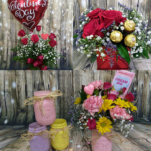 Valentine's Day Bouquets From the Heart