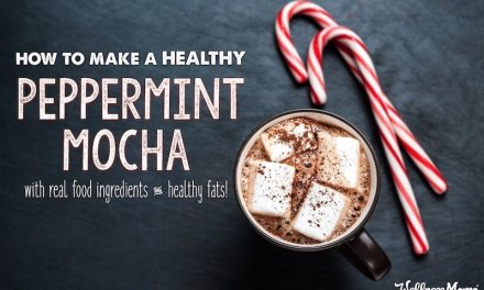 Healthy Peppermint Mocha Recipe