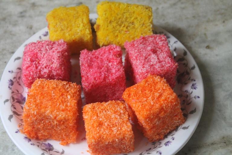 Lamington Jelly Cakes Recipe
