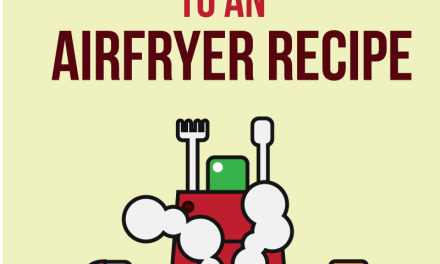 How To Convert Any Recipe To An Airfryer Recipe • Recipe This