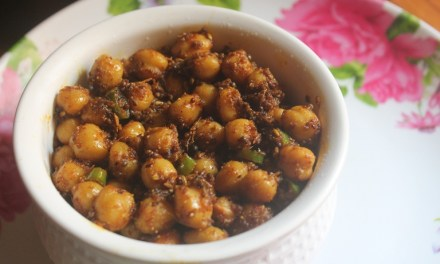 Dry Chickpeas Curry Recipe