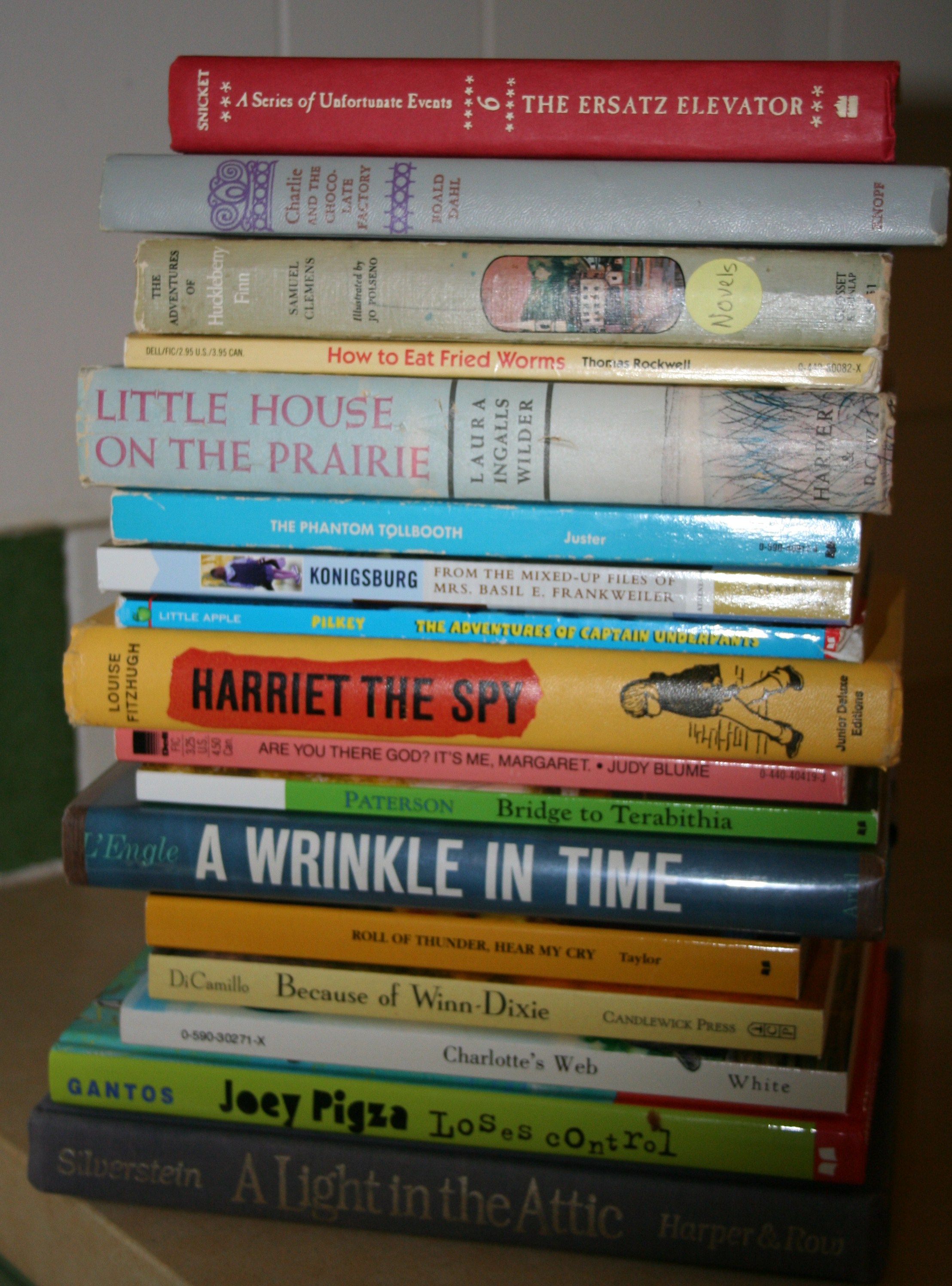 My Childhood, My Reading List