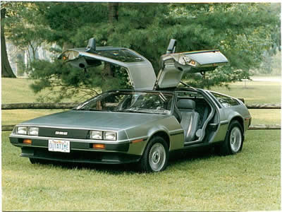 Where's the Delorean? Or Traveling Back to Middle-Grade