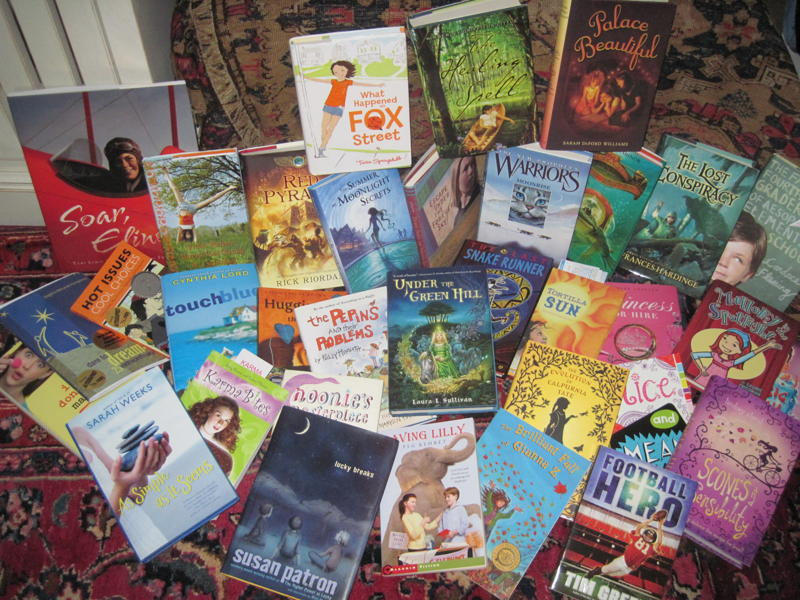 The Great Library Giveaway