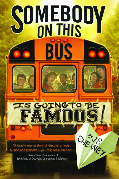 Somebody on this Bus by J.B.Cheaney