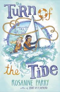 Book Jacket for Rosanne Parry's Turn of the Tide