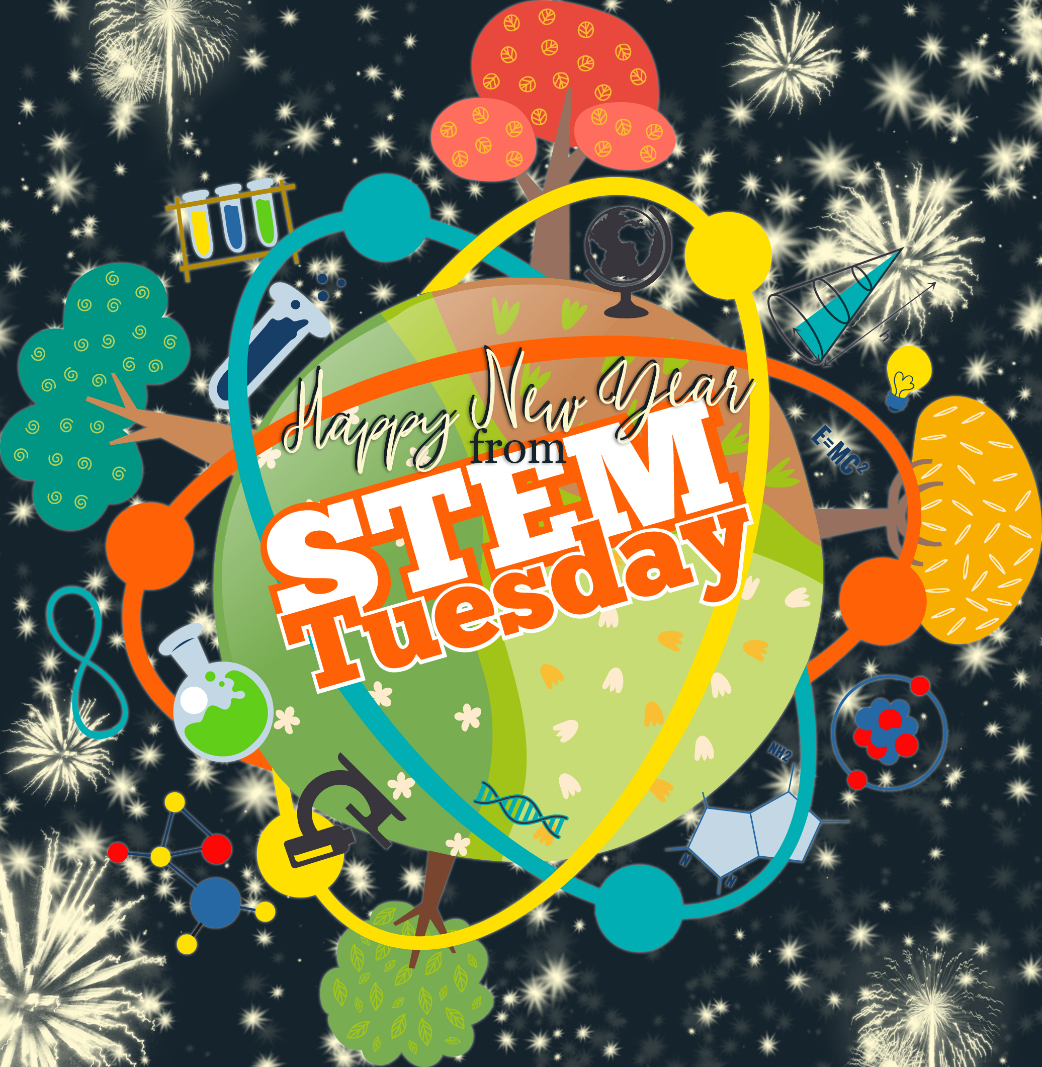 STEM Tuesday New Year's Eve 2019 Special Edition!