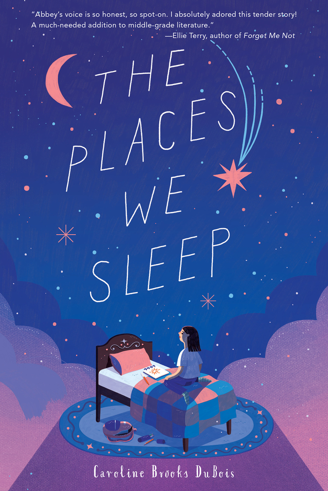 Exploring THE PLACES WE SLEEP with Author Caroline DuBois