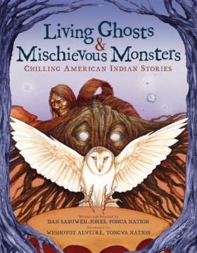cover of Living Ghosts & Mischievous Monsters