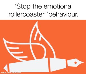 stop the emotional rollercoaster ride red flag behaviour changes from the pen of