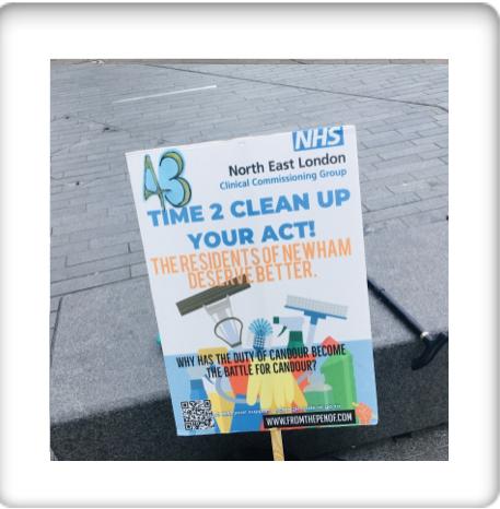protest day 43 newham deserves better healthcre