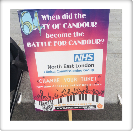 newham deserves better hewlthcare day 64