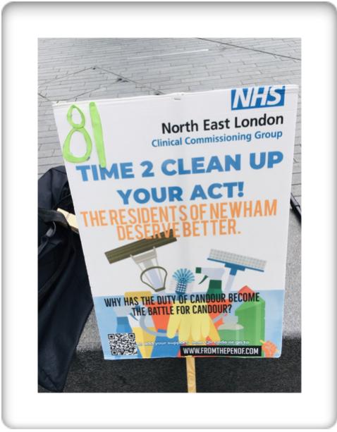 newham deserves better healthcare from nelccg