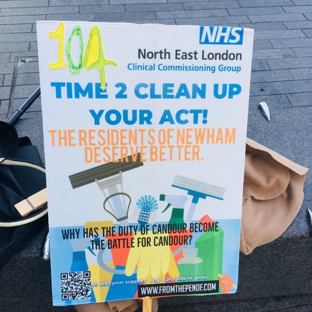 newham deserves better healthcare day 104