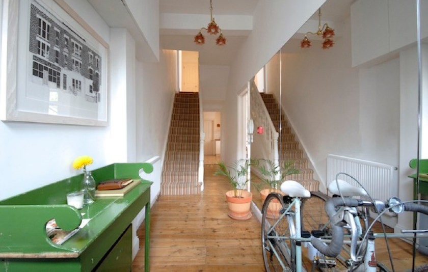 Russell's of Clapton, B&B london, from the poolside blog, stylish b&b, boutique hotels, family holidays