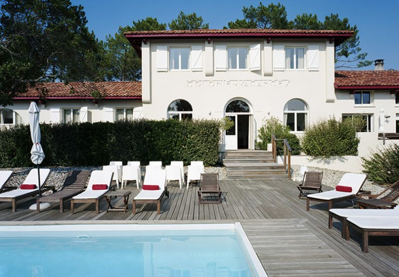 Maison de la prade, hotel, messanges, aquitaine, From the Poolside blog on boutique hotels and chic rentals for family holidays