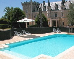 Chateau de la Couronne, boutique hotel, Charentes, France VIA From the Poolside blog on boutique hotels and stylish rentals for family holidays