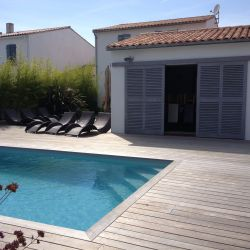 Villa l'Olivier, La Flotte, Ile de re, France, VIA From the Poolside blog on boutique hotels and stylish rentals for family holidays