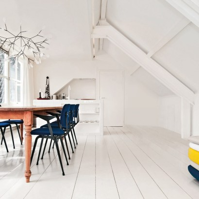 Hotel Droog, a design shop, gallery and cafe with only one bedroom in Amsterdam. You will really be at the core of the design party there. Room from 235 Euros.