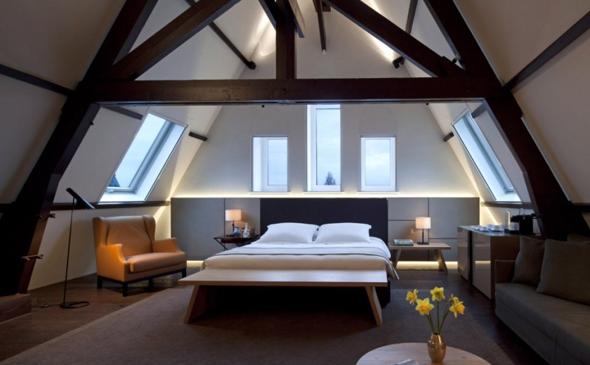 Conservatorium Hotel, luxury hotel, Amsterdam with indoor pool, spa, gym. A treat as the starting price is 335 Euros !