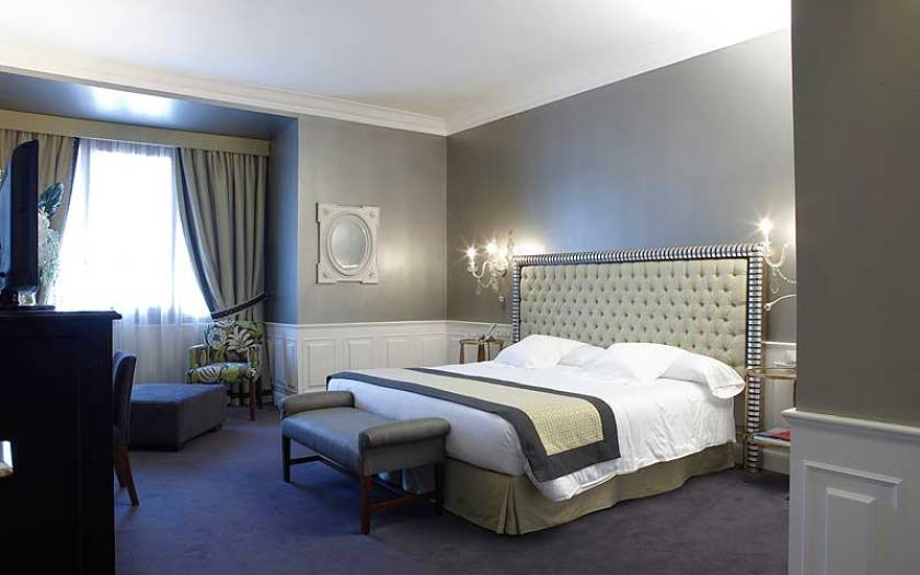 Hotel Carlton, Bilbao, Spain. Not a boutique hotel as it has 172 rooms but classic luxury which can be nice for a special occasion. Room price starts at 230 euros