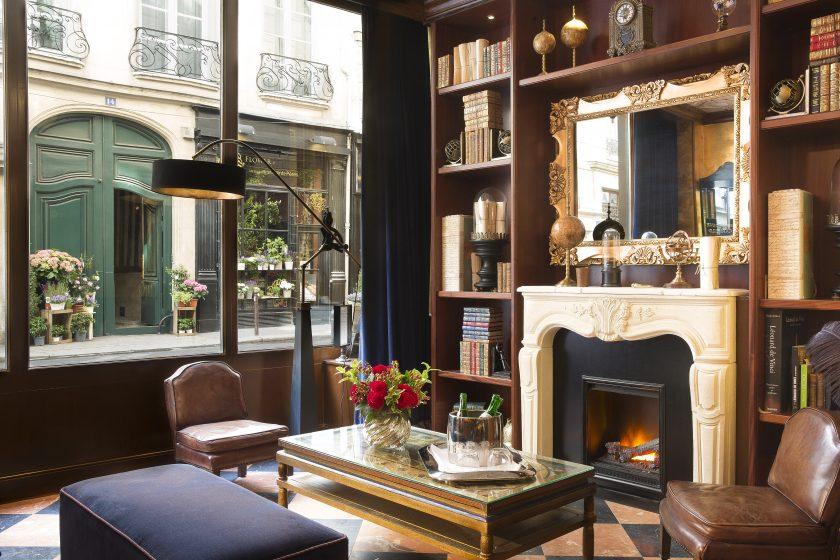 Hotel Da Vinci, new Paris boutique hotel, renovated in 2015.