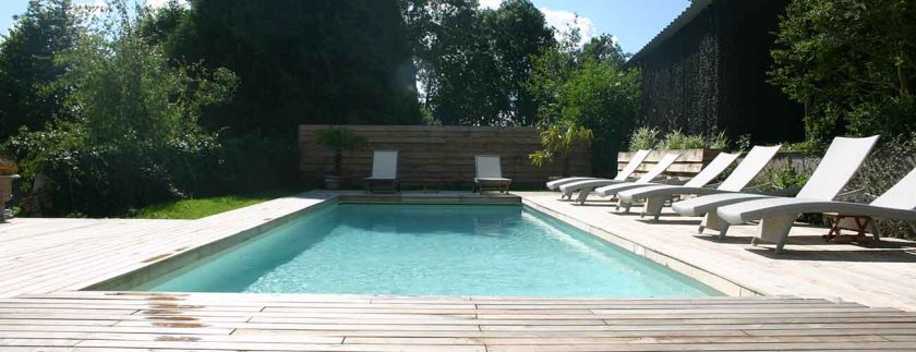 Villa Fol Avril, charming hotel in Le Perche, Normandy with pool. One of the 6 B&Bs in Perche, France in this post.