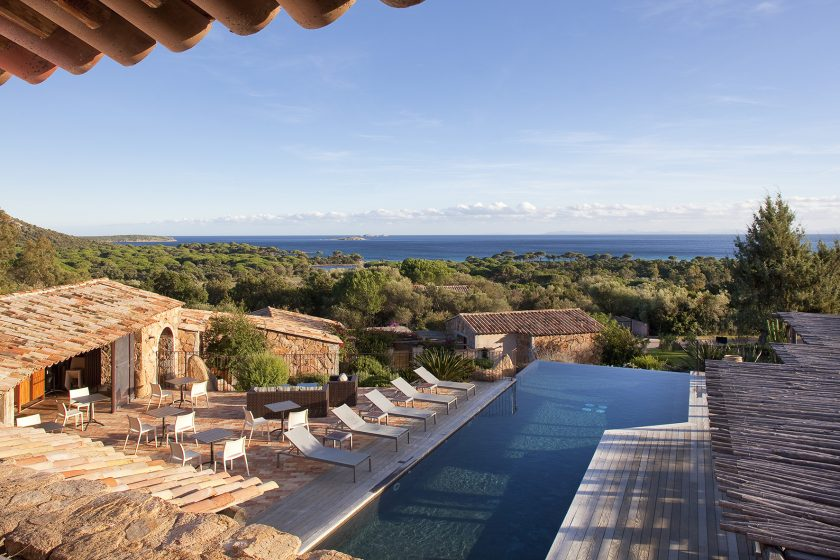 Hotel Bergeries de Palombaggia, Corsica, France, one of the 13 boutique hotels near a beach and with a heated pool found on https://fromthepoolside.com