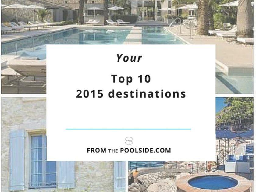 Top 10 destinations