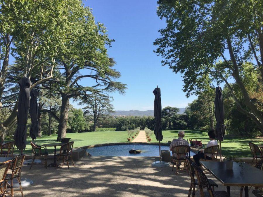 Domaine de Fontenille, boutique hotel in Provence, the park