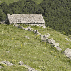 Gite de Buron, a romantic isolated rental in the mountains.