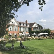 Mademoiselle loved this five star countryside hotel with outdoor heated pool so much that we had to return to celebrate her 10th birthday.